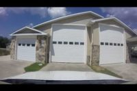 First Person open garage