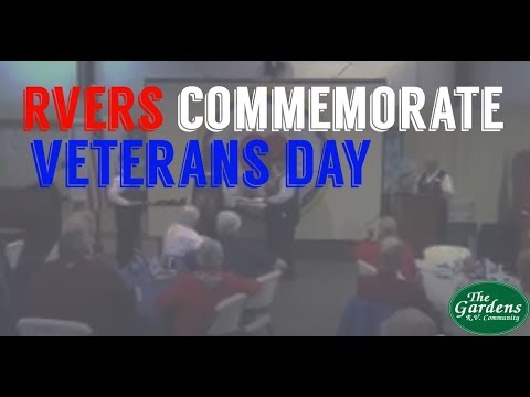 RVers Commemorate Veterans Day