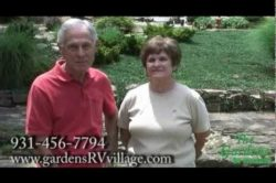 Harris and Melba - Gardens Residents